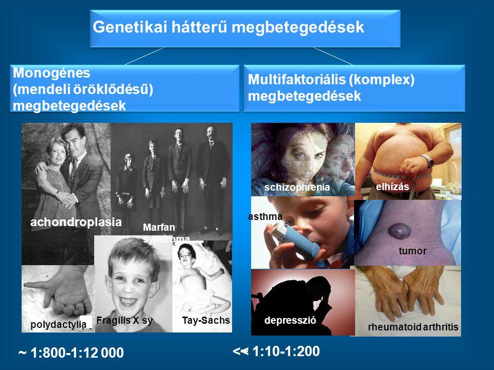 Genetikai hátterű megbetegedések