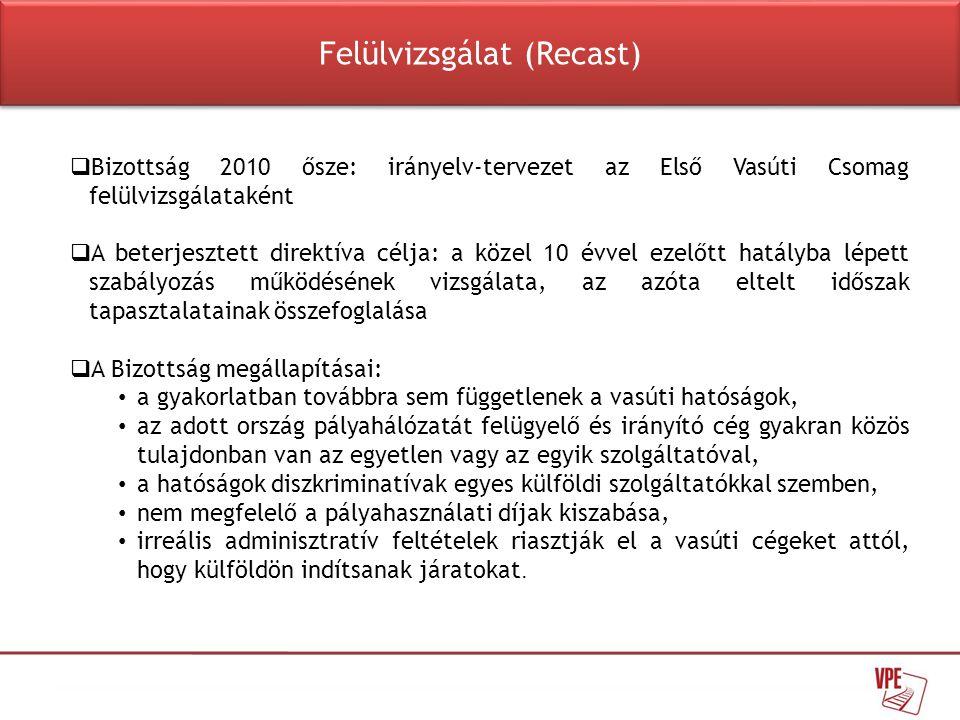 Felülvizsgálat (Recast)