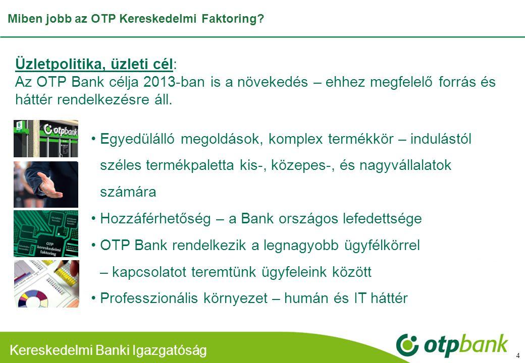 Miben jobb az OTP Kereskedelmi Faktoring