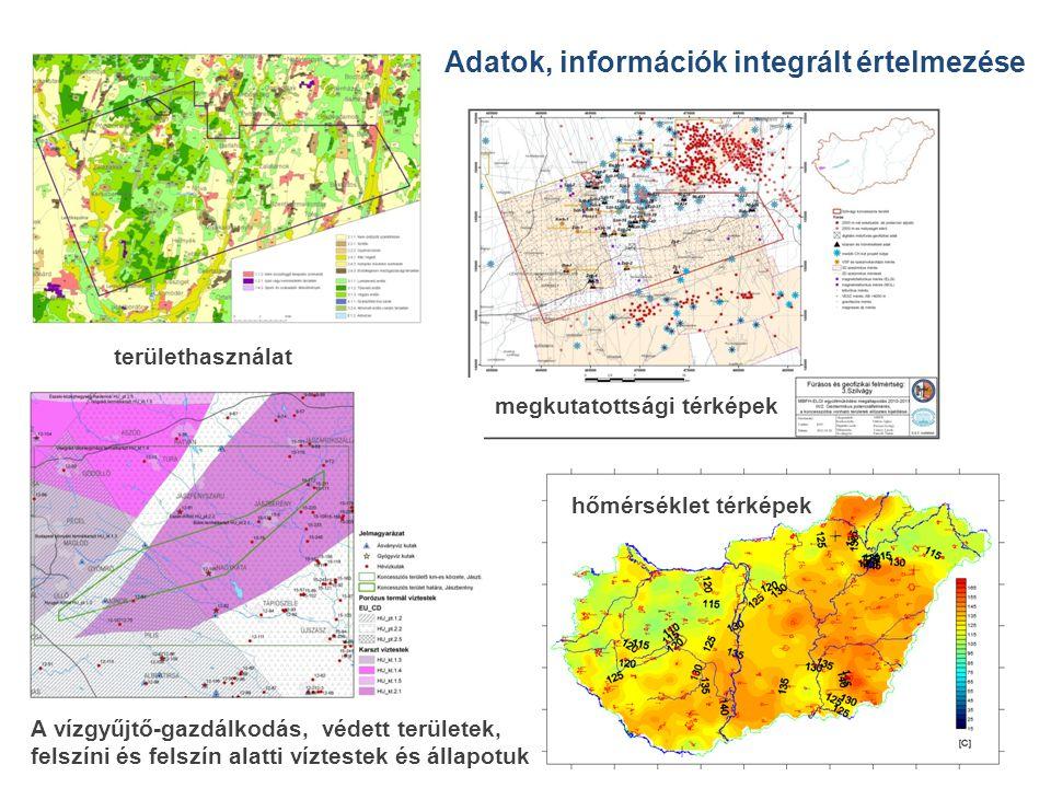 Adatok, információk integrált értelmezése