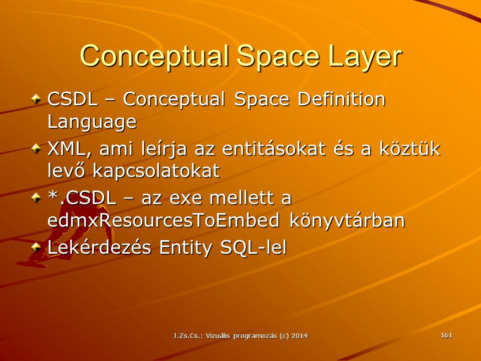 Conceptual Space Layer