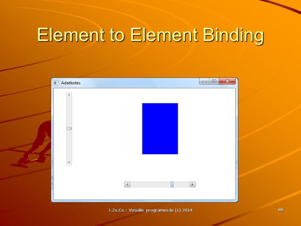 Element to Element Binding