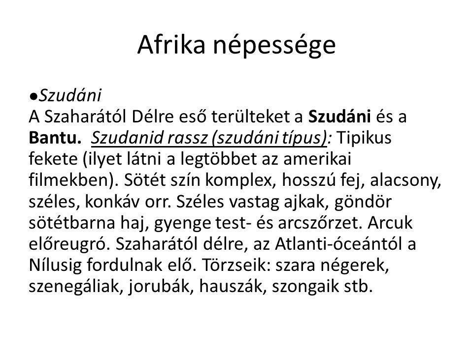 Afrika népessége