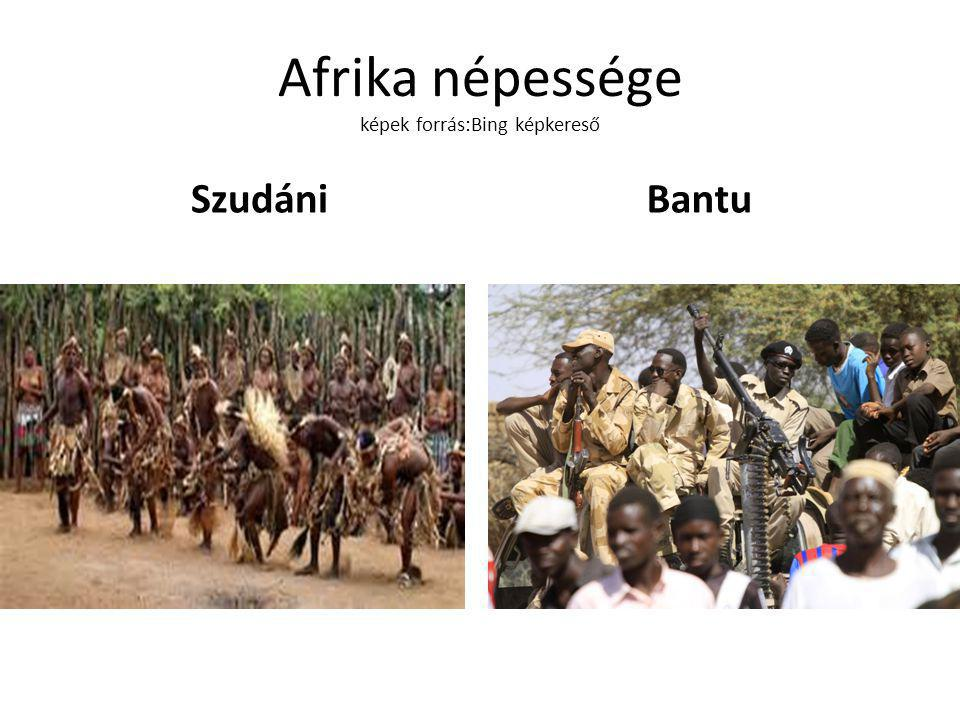 Afrika népessége képek forrás:Bing képkereső