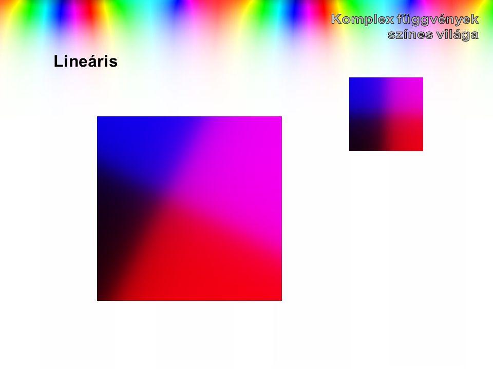 Komplex függvények színes világa Lineáris