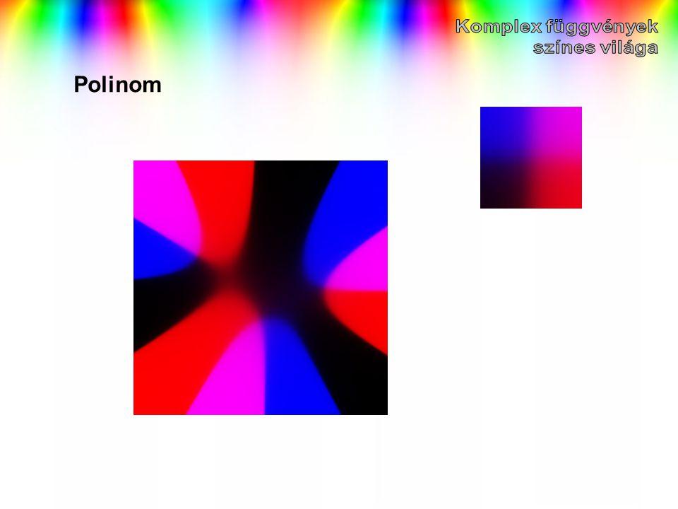 Komplex függvények színes világa Polinom