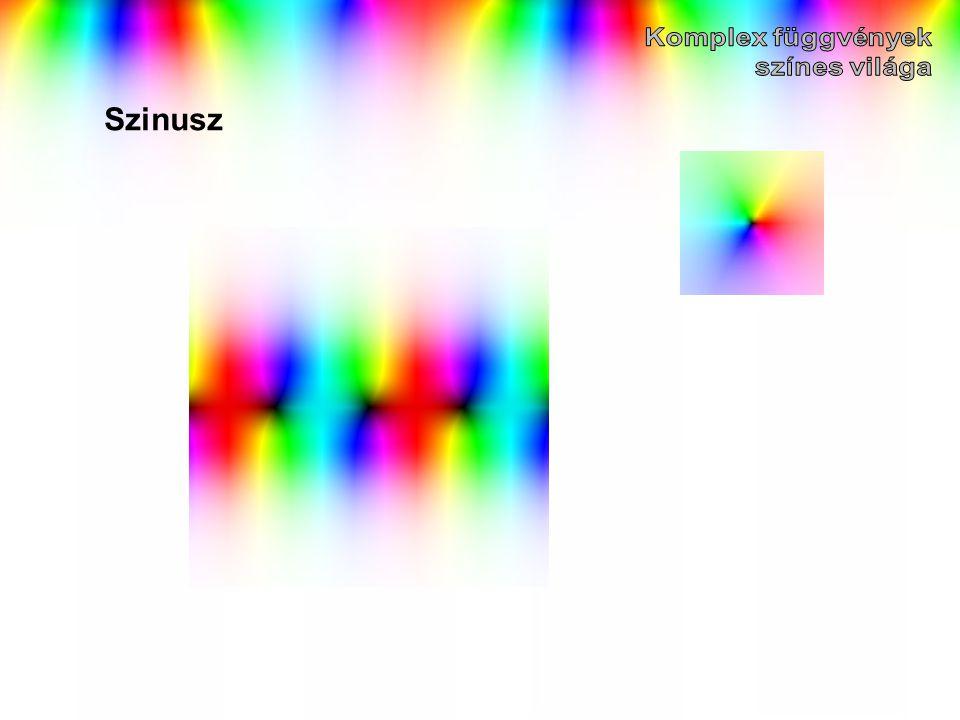Komplex függvények színes világa Szinusz