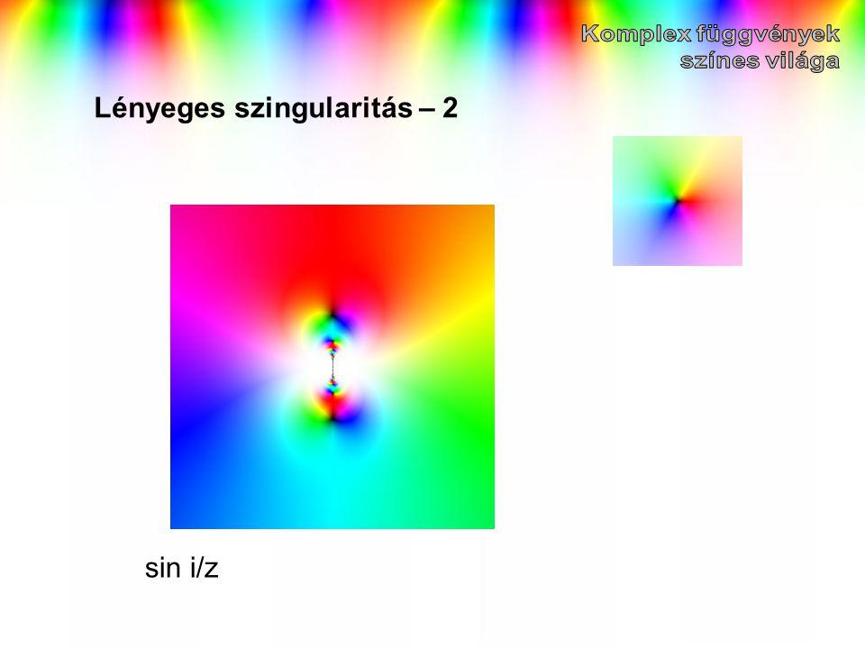 Lényeges szingularitás – 2
