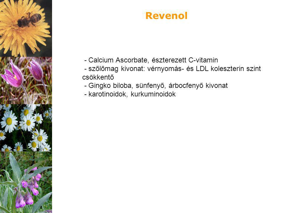 Revenol - Calcium Ascorbate, észterezett C-vitamin