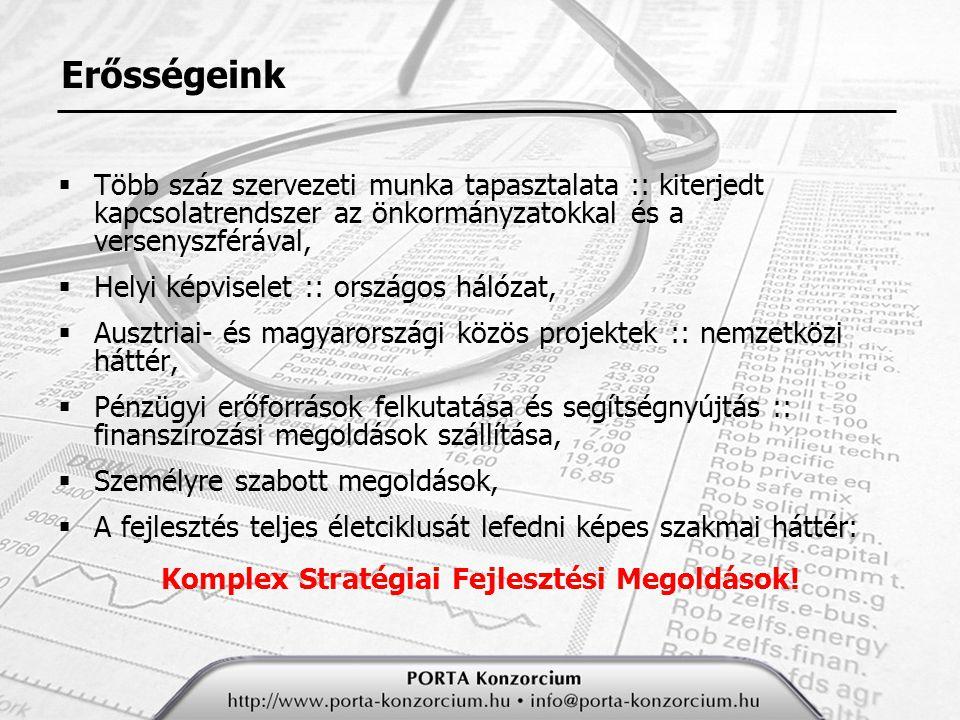 Komplex Stratégiai Fejlesztési Megoldások!