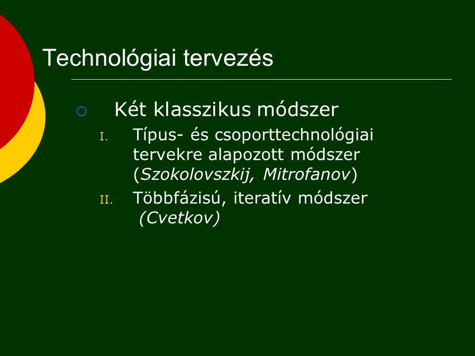 Technológiai tervezés