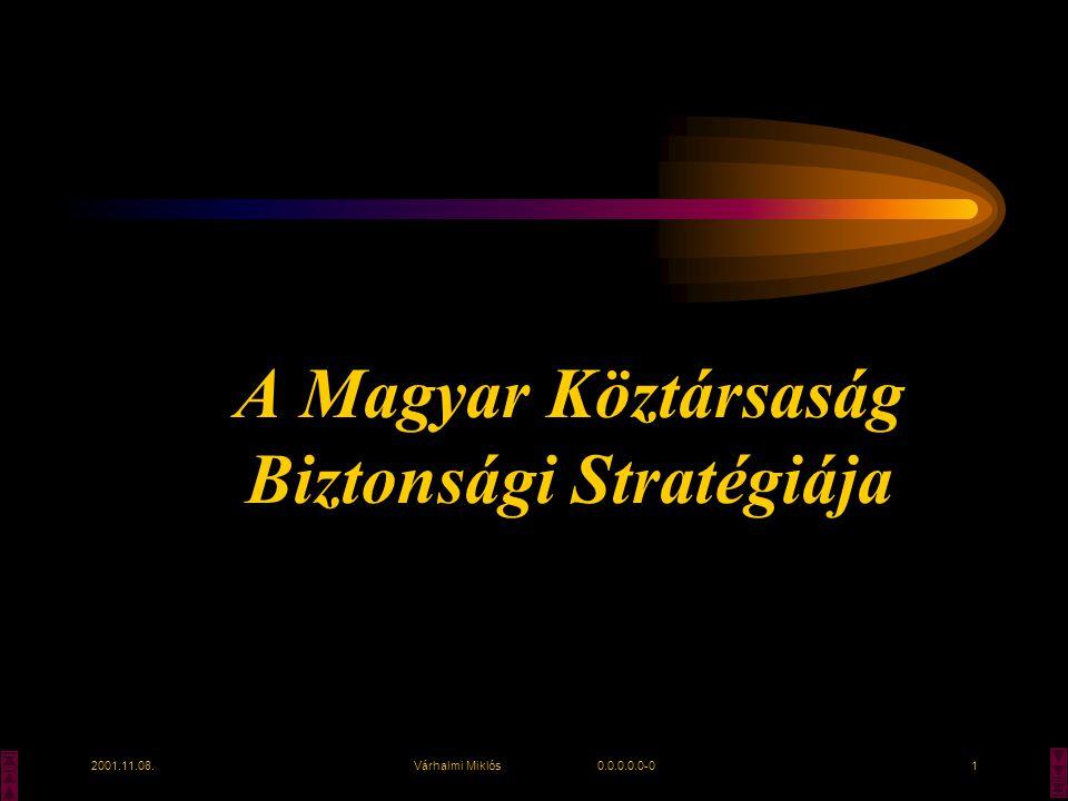 A Magyar Köztársaság Biztonsági Stratégiája