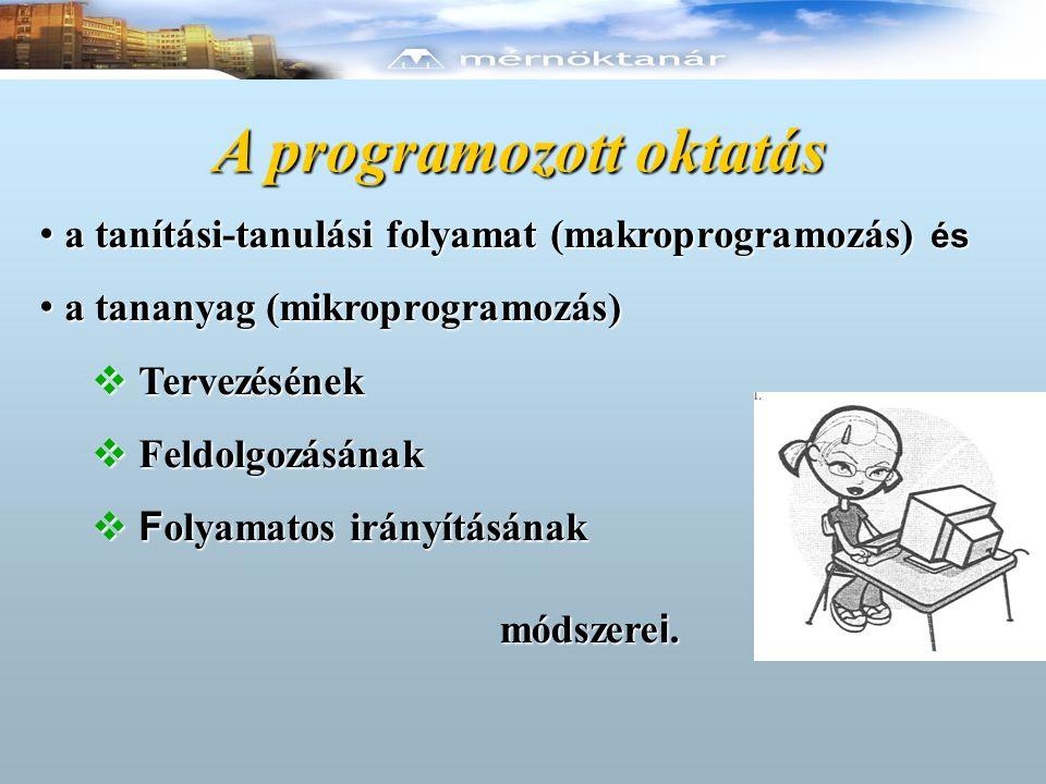 A programozott oktatás