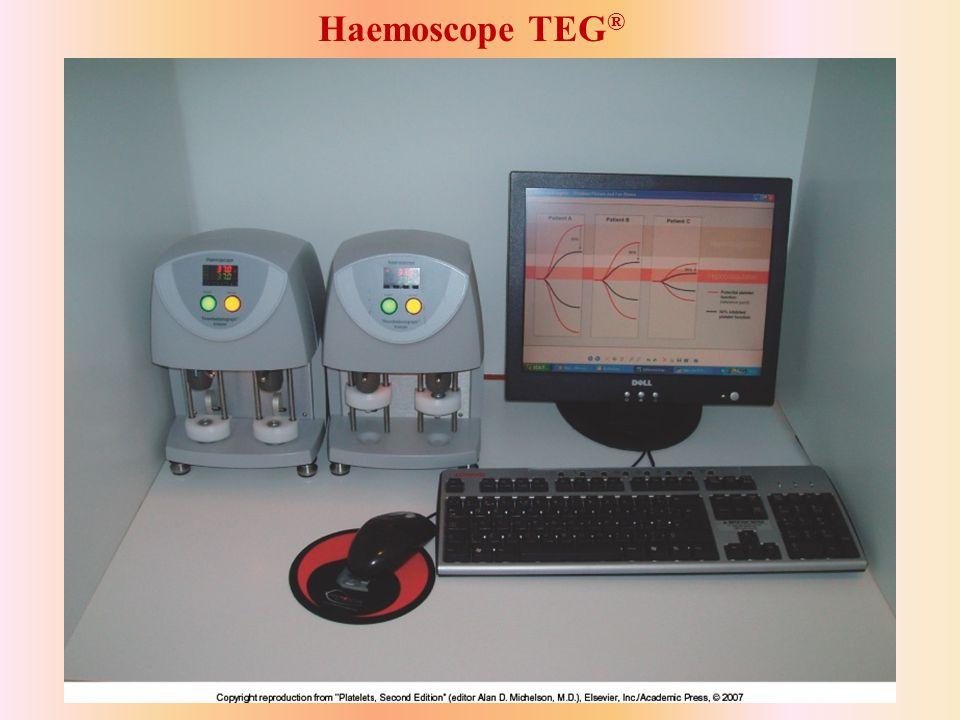 Haemoscope TEG® Figure 8 37
