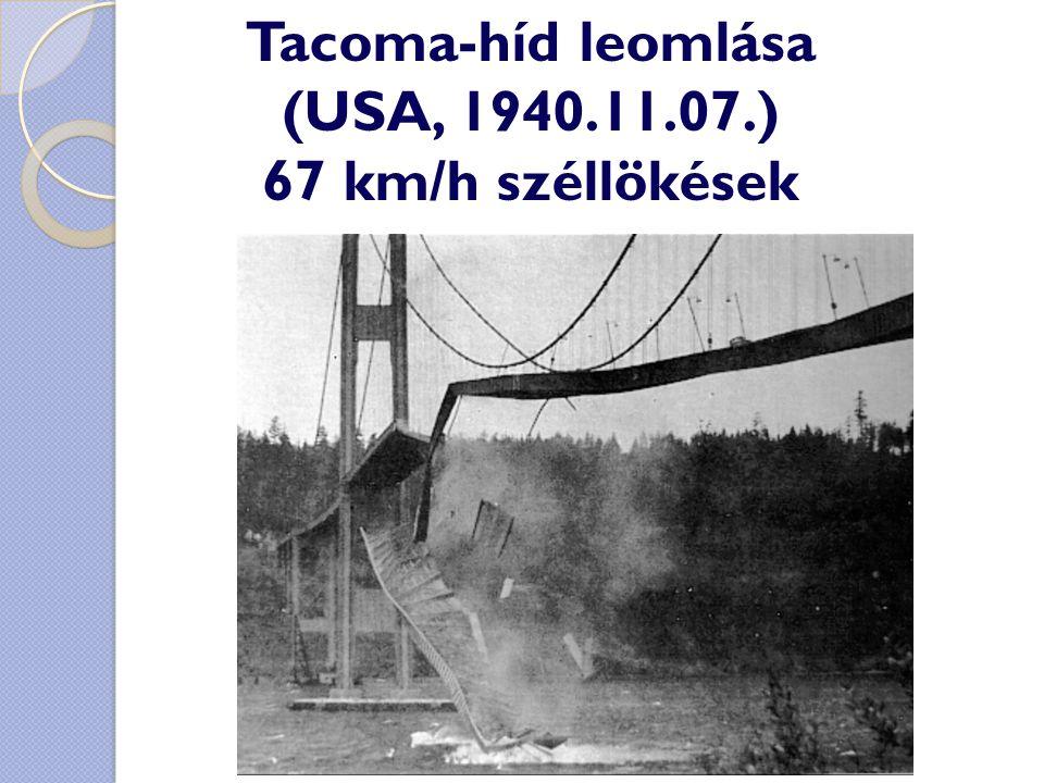Tacoma-híd leomlása (USA, 1940.11.07.)