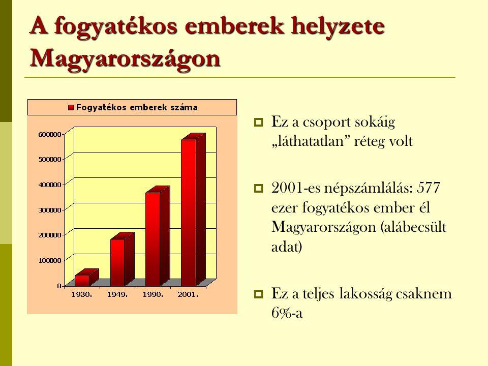 A fogyatékos emberek helyzete Magyarországon