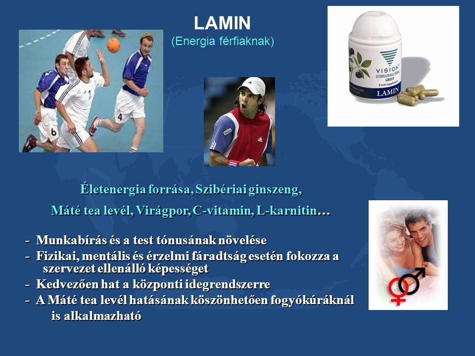LAMIN (Energia férfiaknak)