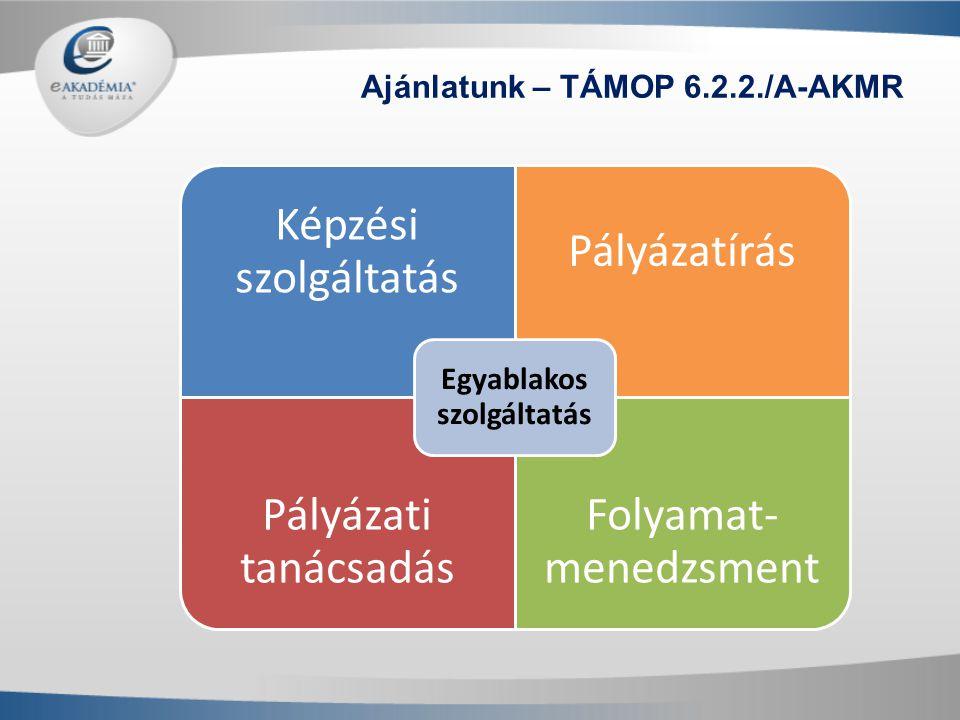 Ajánlatunk – TÁMOP 6.2.2./A-AKMR