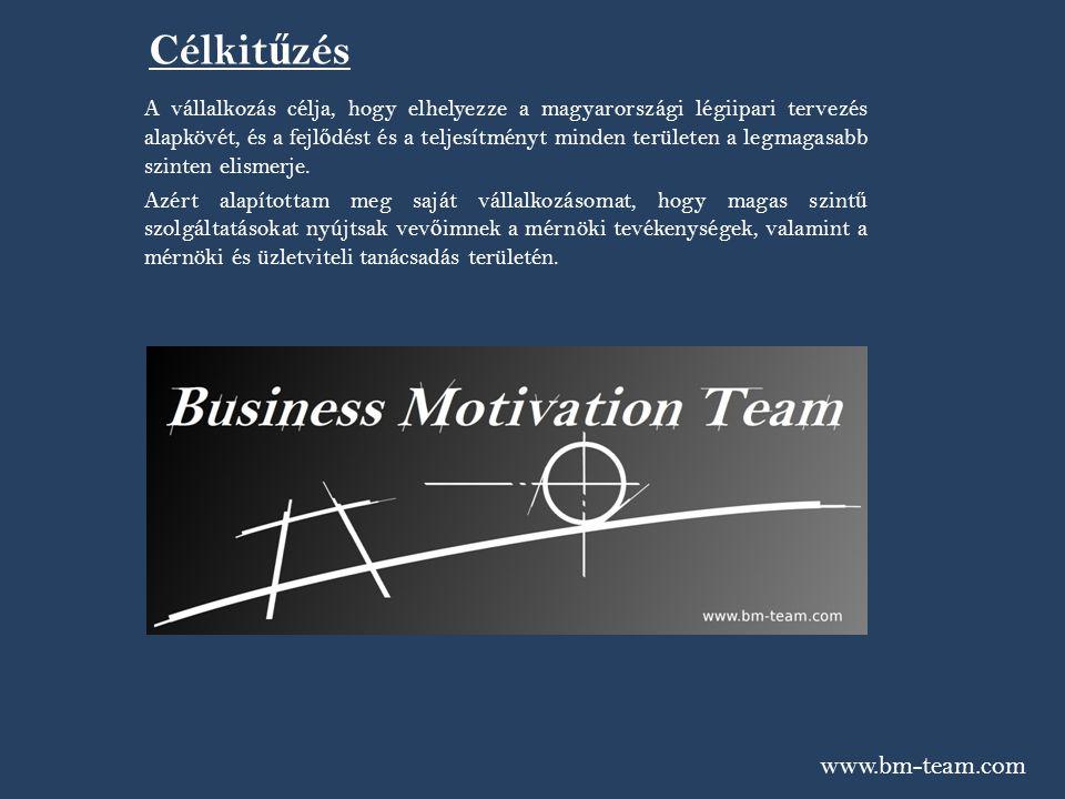 Célkitűzés www.bm-team.com