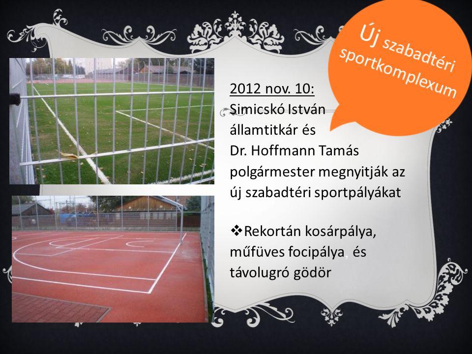 Új szabadtéri sportkomplexum