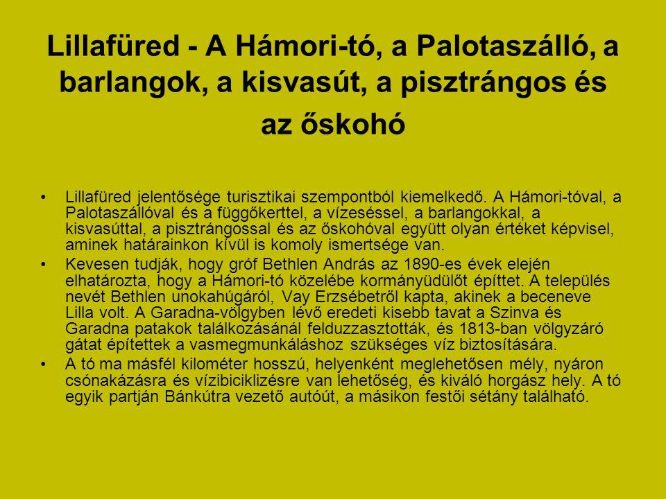 Lillafüred - A Hámori-tó, a Palotaszálló, a barlangok, a kisvasút, a pisztrángos és az őskohó