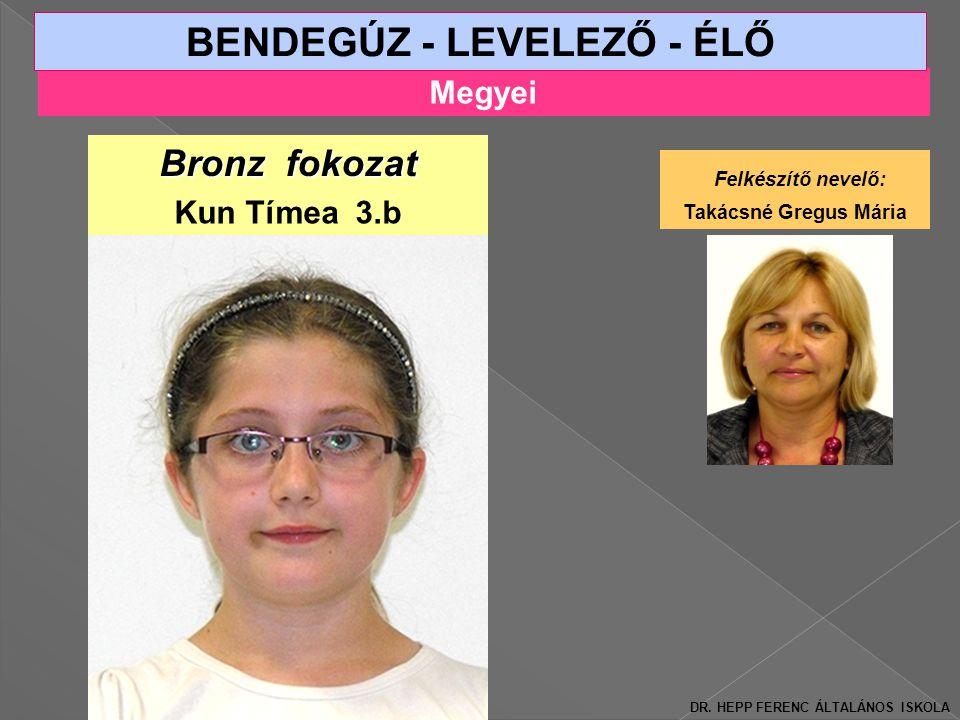 BENDEGÚZ - LEVELEZŐ - ÉLŐ