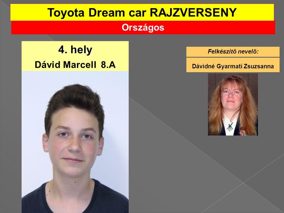 Toyota Dream car RAJZVERSENY