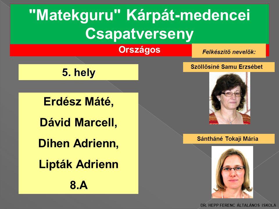 Matekguru Kárpát-medencei Csapatverseny