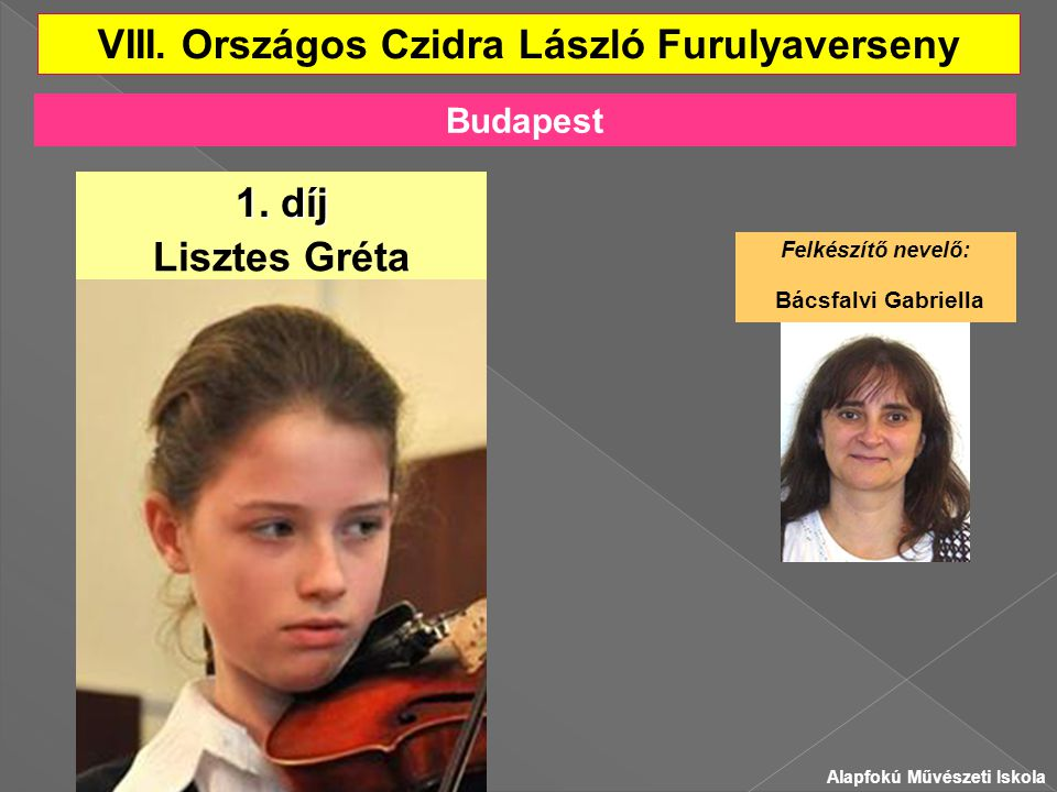 VIII. Országos Czidra László Furulyaverseny