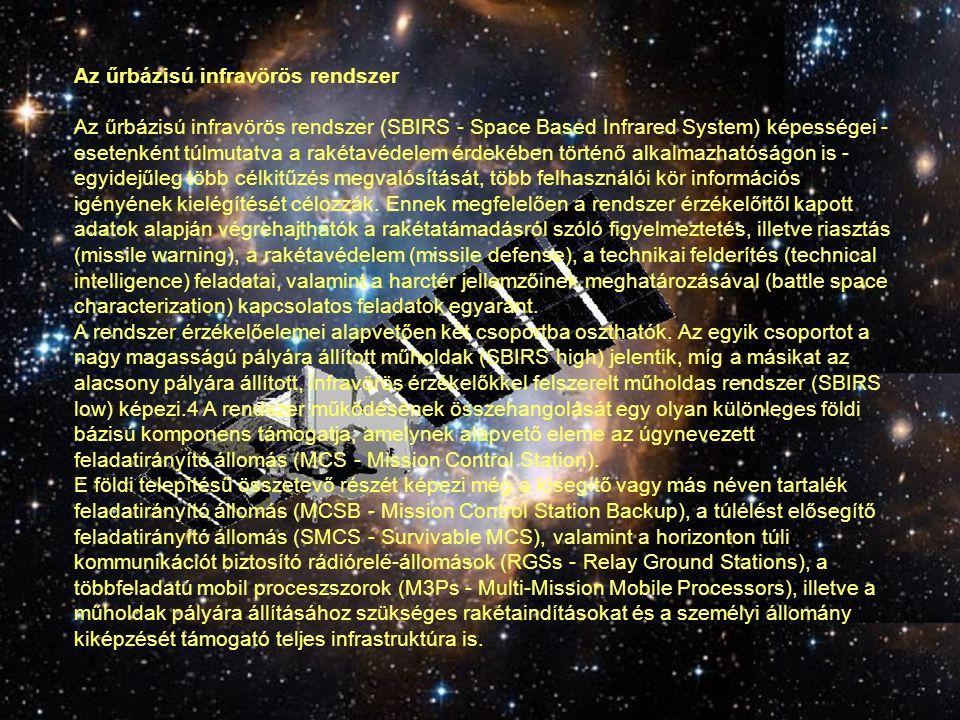 Az űrbázisú infravörös rendszer
