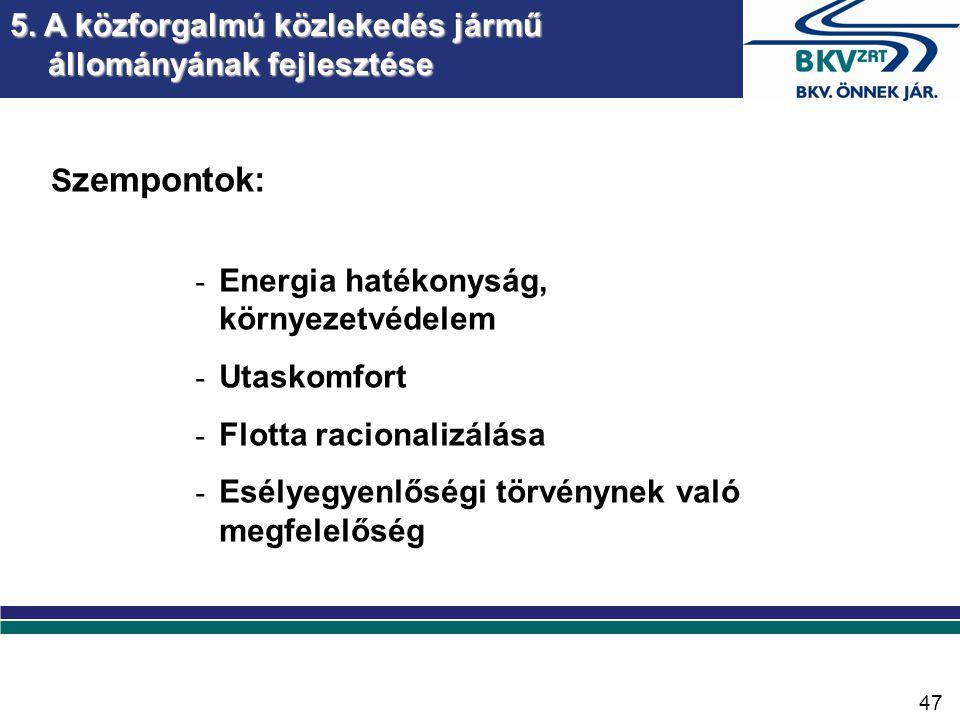 6. Környezetvédelmi igények és elvárások teljesítése
