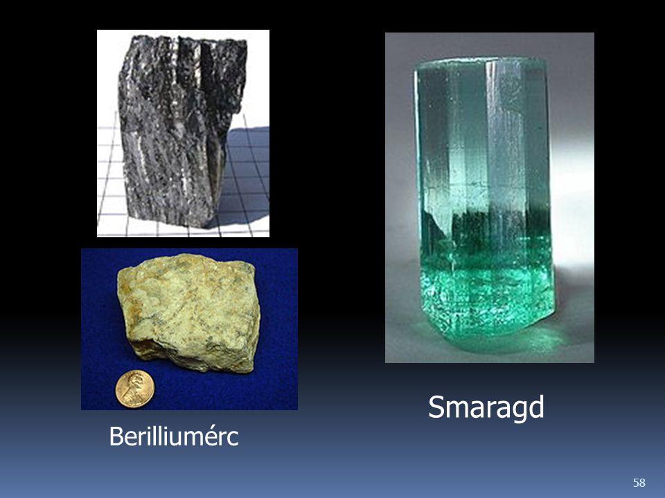 Smaragd Berilliumérc