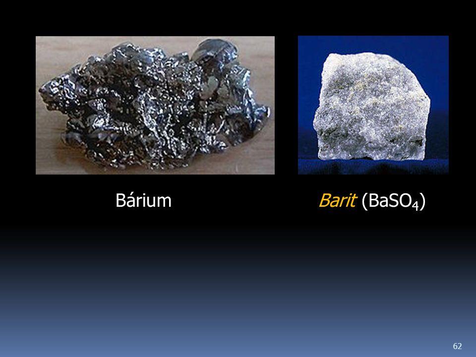 Bárium Barit (BaSO4)