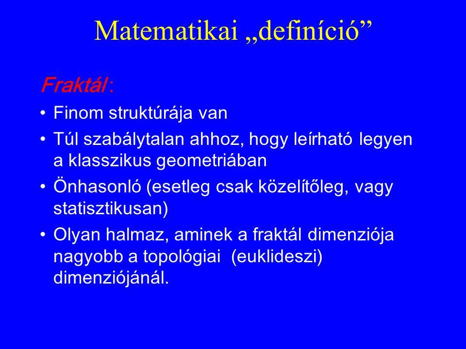 "Matematikai ""definíció"