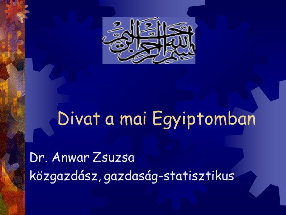 Divat a mai Egyiptomban