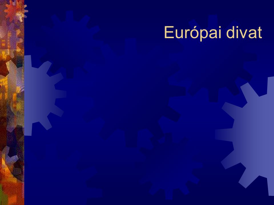 Európai divat