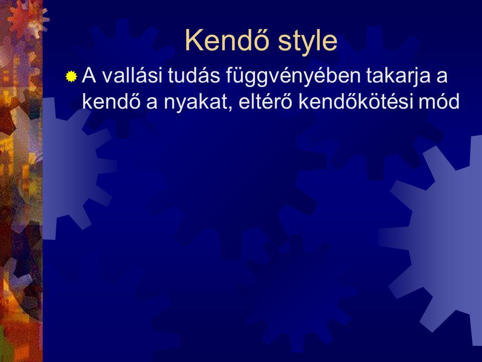 Kendő style A vallási tudás függvényében takarja a kendő a nyakat, eltérő kendőkötési mód