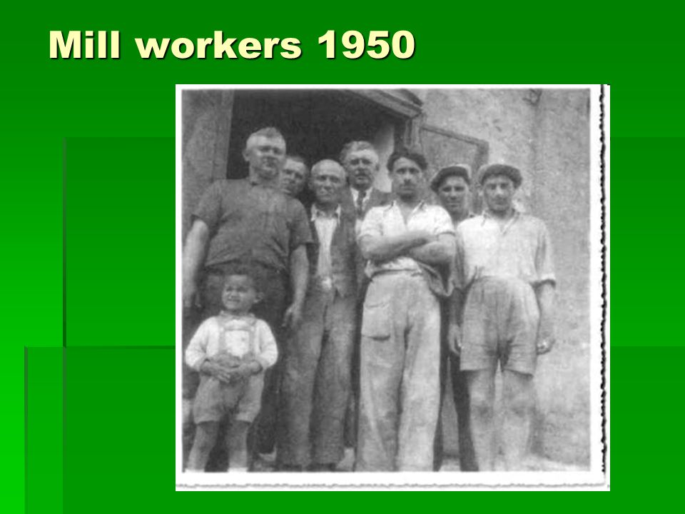 Mill workers 1950