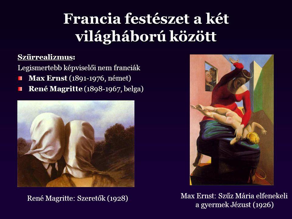 Francia festészet a két világháború között