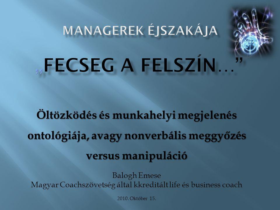 Magyar Coachszövetség által kkreditált life és business coach