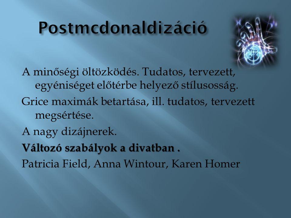 Postmcdonaldizáció