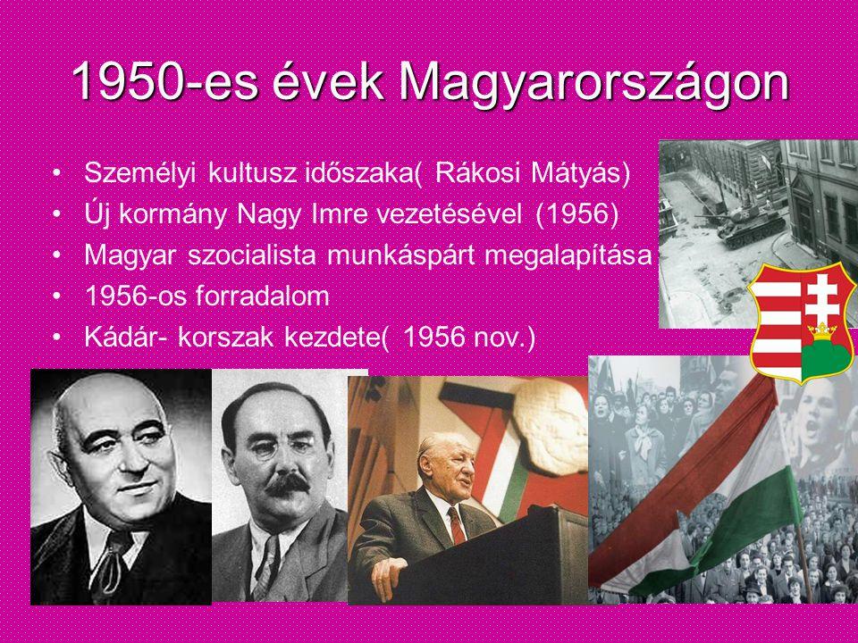 1950-es évek Magyarországon