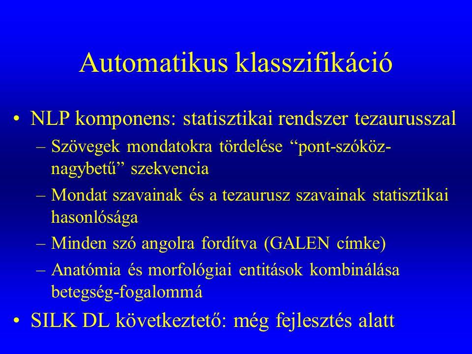 Automatikus klasszifikáció