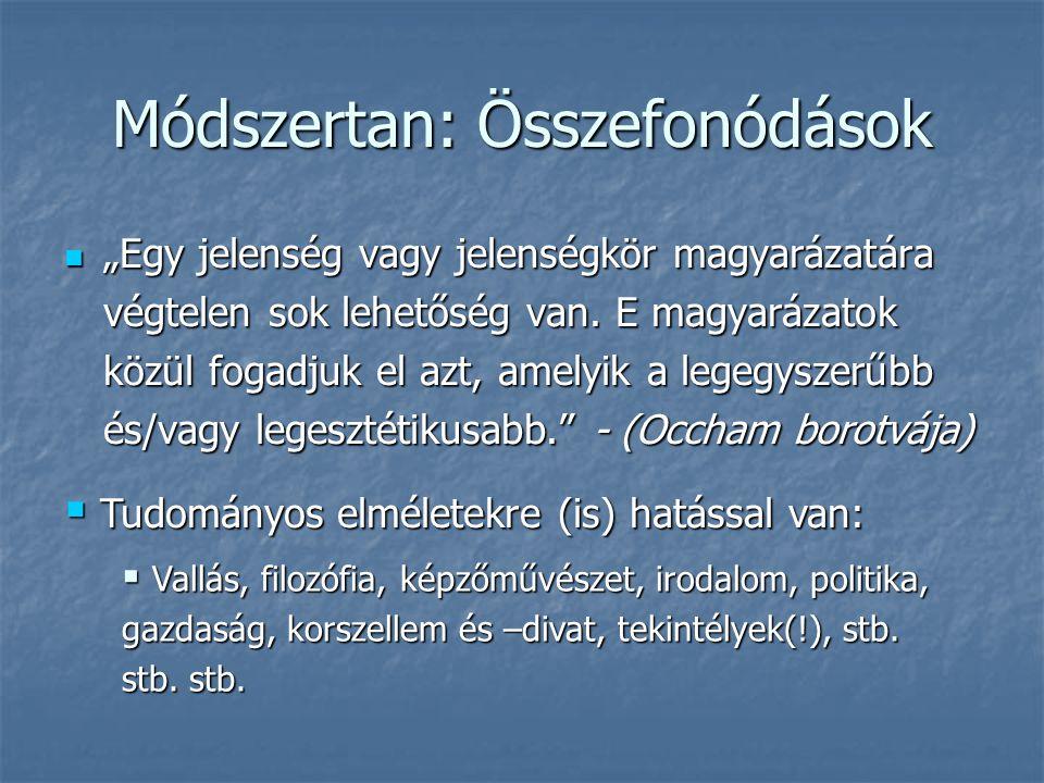 Módszertan: Összefonódások