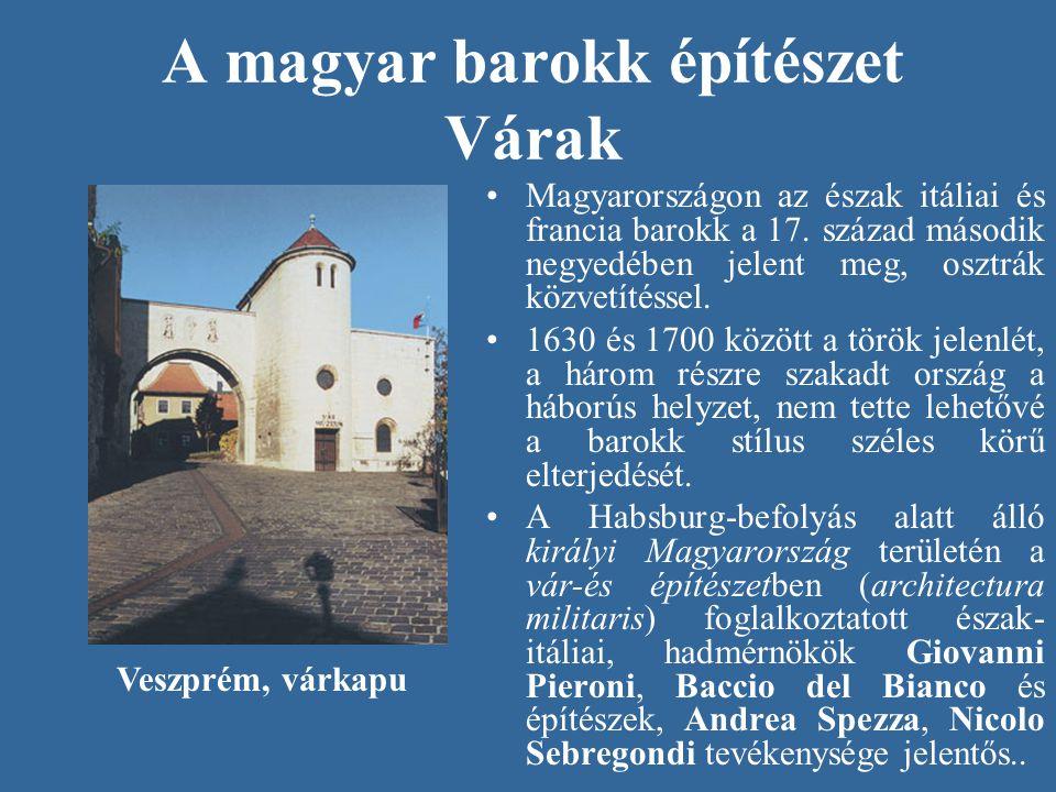 A magyar barokk építészet Várak