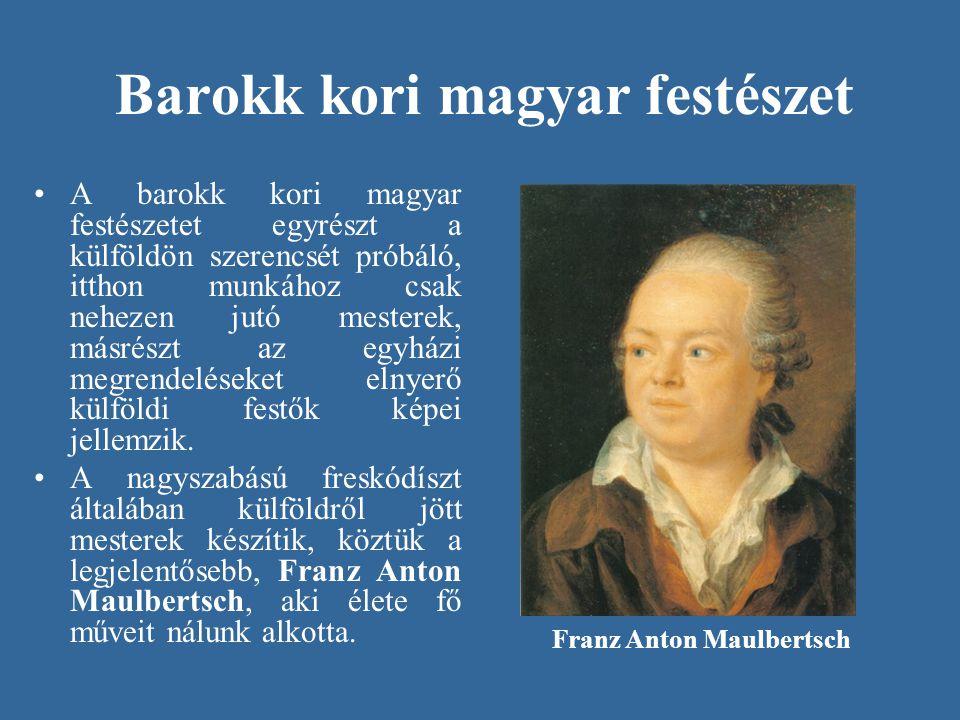 Barokk kori magyar festészet