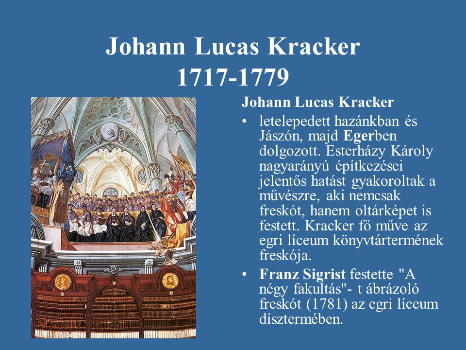 Johann Lucas Kracker 1717-1779 Johann Lucas Kracker