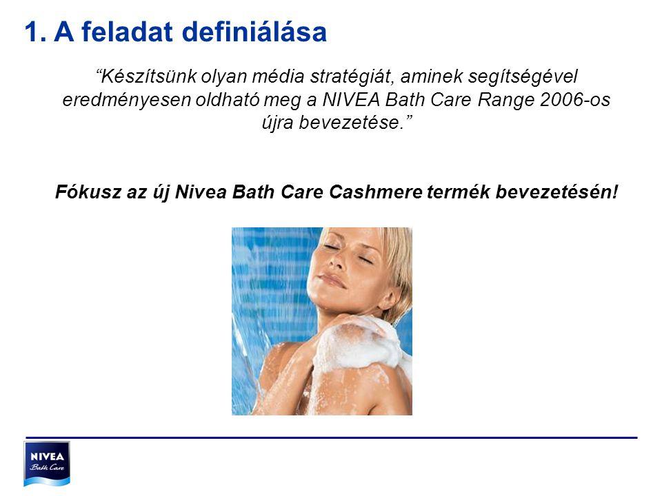 Fókusz az új Nivea Bath Care Cashmere termék bevezetésén!