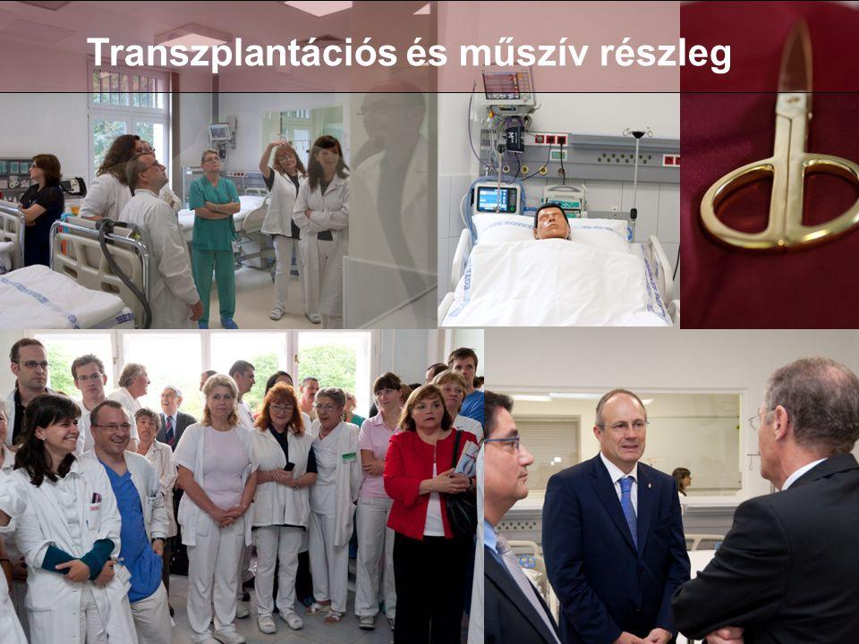 Transzplantációs és műszív részleg