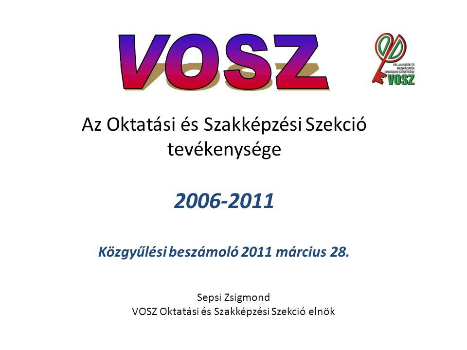 Közgyűlési beszámoló 2011 március 28.